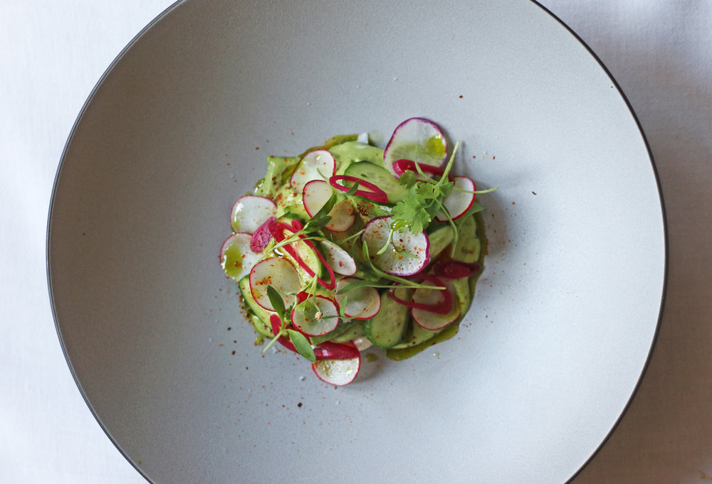 DUNGENESS CRAB with Cucumber