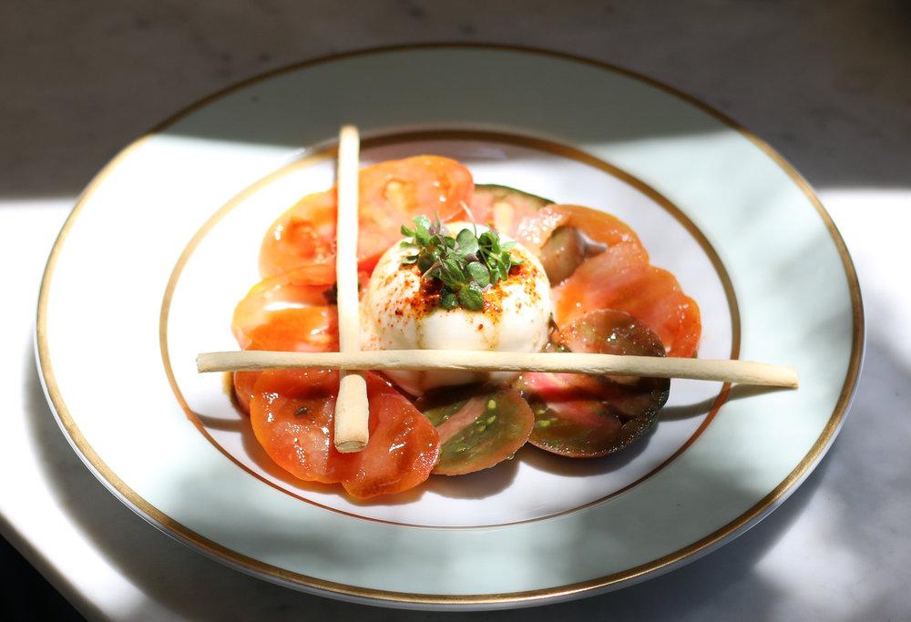 Tomato and Burrata Salad