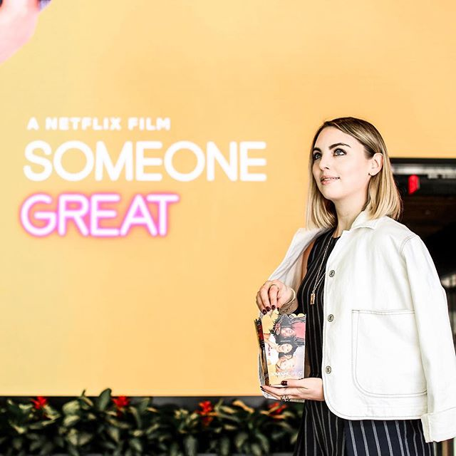 I had so much fun at a screening of @netflix 's new movie #SomeoneGreat, starring Gina Rodriguez, Brittany Snow, and Dewanda Wise! In all honesty...I thought the movie was SO funny, so cute, and sooo relatable for millennials, woman, or anyone that's ever had their heart broken. The 3 main ladies are fierce and hilarious, and I love the movie's focus on female friendships. The movie is now available on Netflix so DEFINITELY watch it this weekend -- click the link in my bio to learn more! sponsored