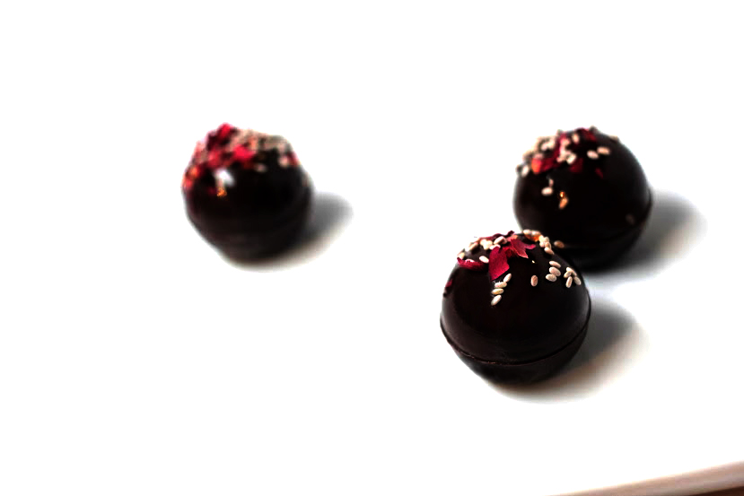 CHIA CHOCOLATE TRUFFLES