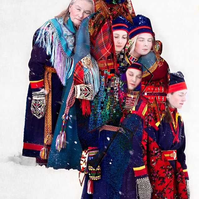 Lihkku beivviin!  _  Today is the Sami National Day. The Sami people are the indigenous people of (northern) Norway, Sweden, Finland, and Russia.  _  In 1917 a woman named Elsa Laula Renberg initiated the first grand political meeting discussing the rights of our Sami people. 150 participants from both Norway and Sweden attended. This was the start of a very important process of keeping alive the Sami culture and language. The date of this meeting was picked when it in 1993 was decided to create a Sampi National Day.  _  Here is to all the strong, resilient women who have carried the battle of keeping a culture alive. And to all the young women today proudly doing the same thing!  _ Lihkku beivviin!  _ { 📸: @coopergorfer } . . . . , . . . . . . . . . . . . . . #lihkkubeivviin #samenesnasjonaldag #samefolketsdag #sápmi #feminists #thefutureisfemale #womenempowerment #womenentrepreneurs #femaleentrepreneur #feminism