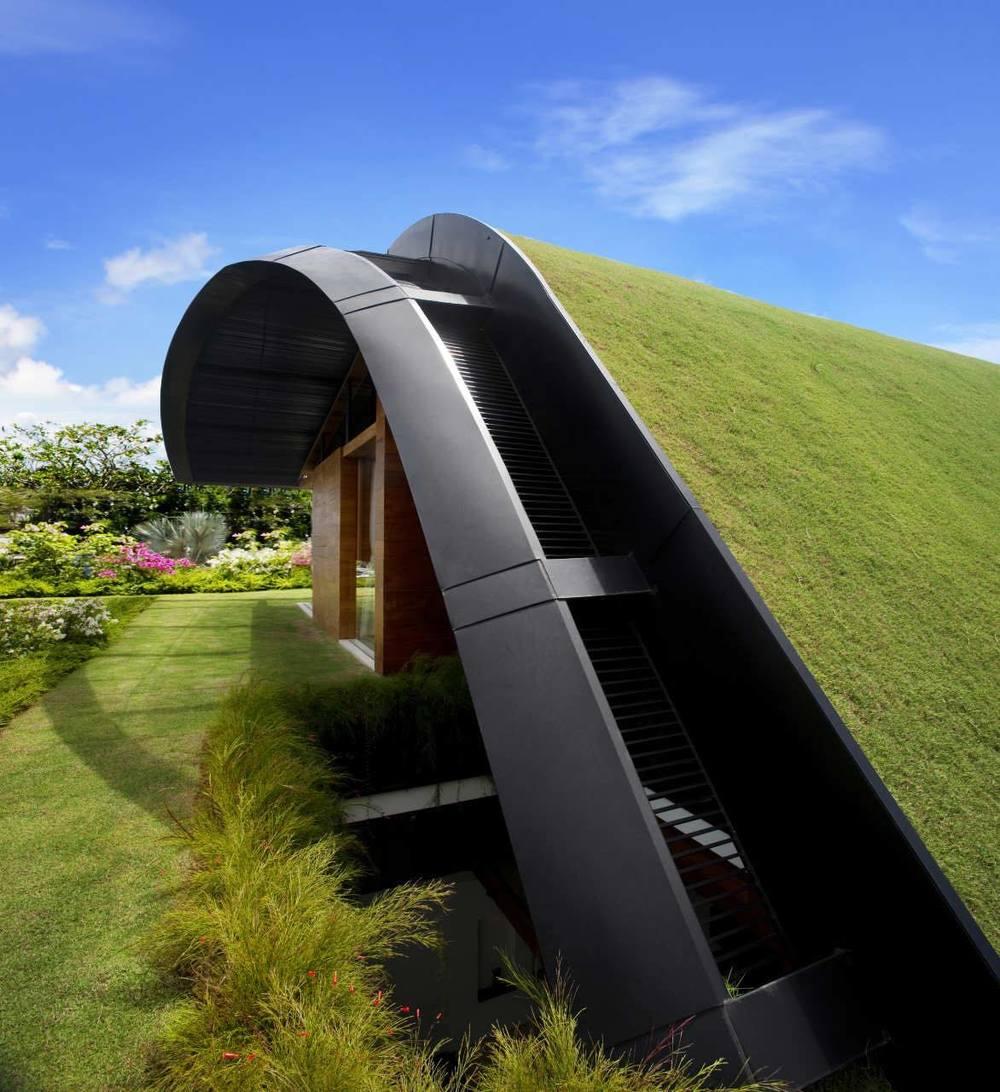 Ngôi nhà thân thiện với môi trường với phong cách Nhà vườn Sky