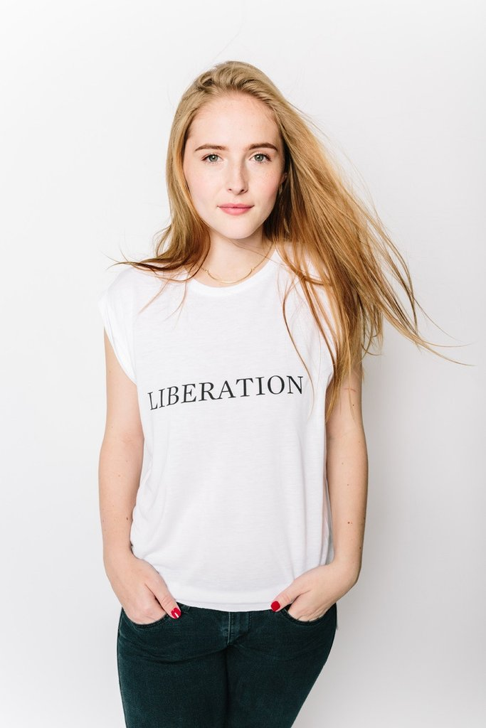 Liberation White Tank from My Sister
