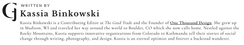 Kassia Binkowski Author Bio