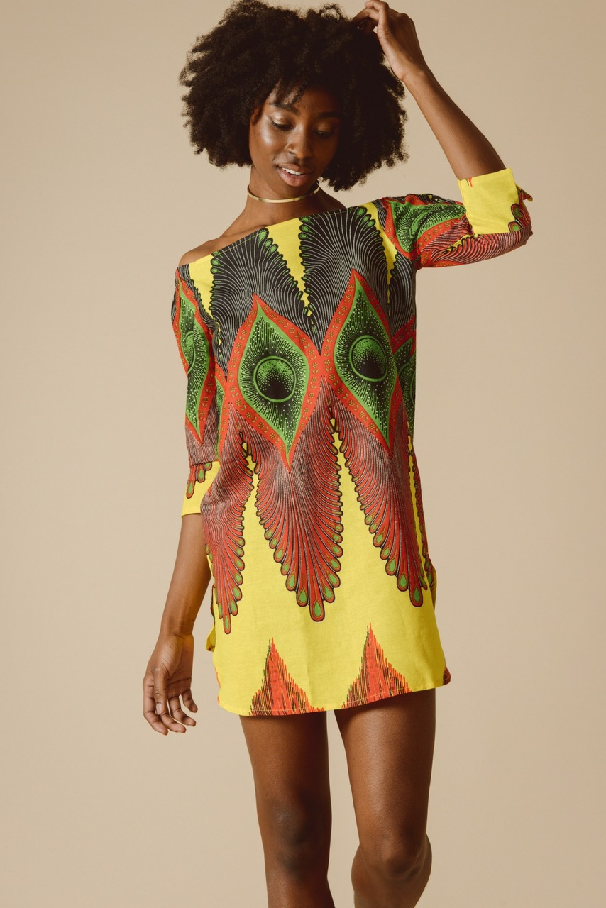 Allegra Yellow Bardot Dress.jpg