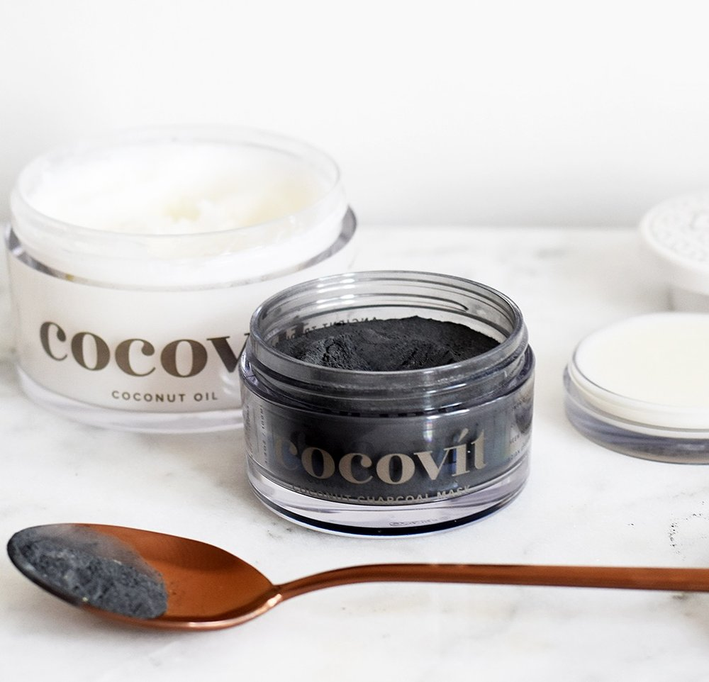 Cocovit Coconut Oil and Coconut Charcoal Face Mask.JPG