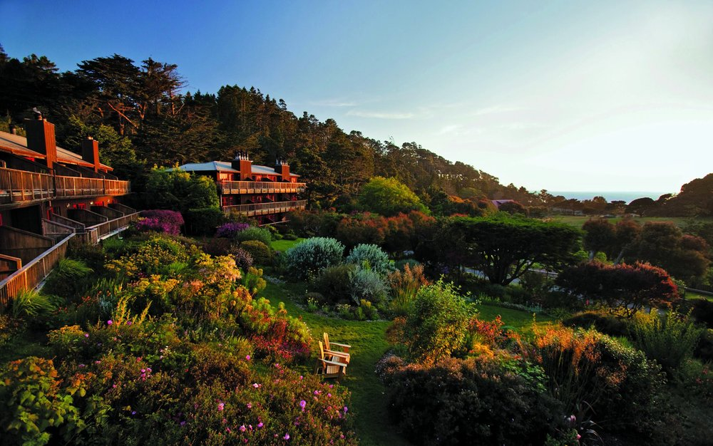 The Stanford Inn By The Sea in Mendocino, CA