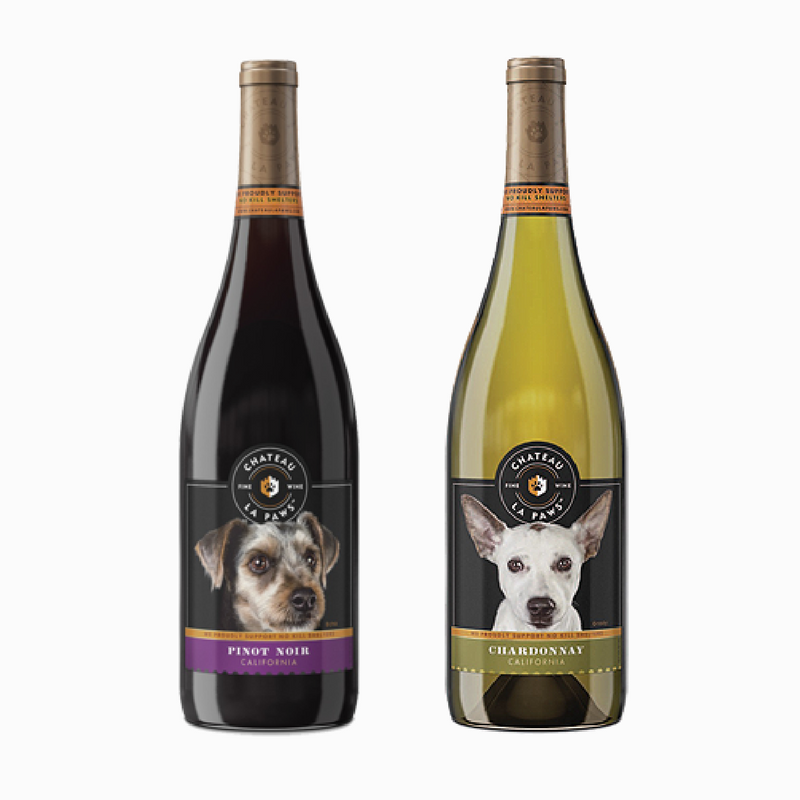 Wine Brands That Give Back - Chateau La Paws