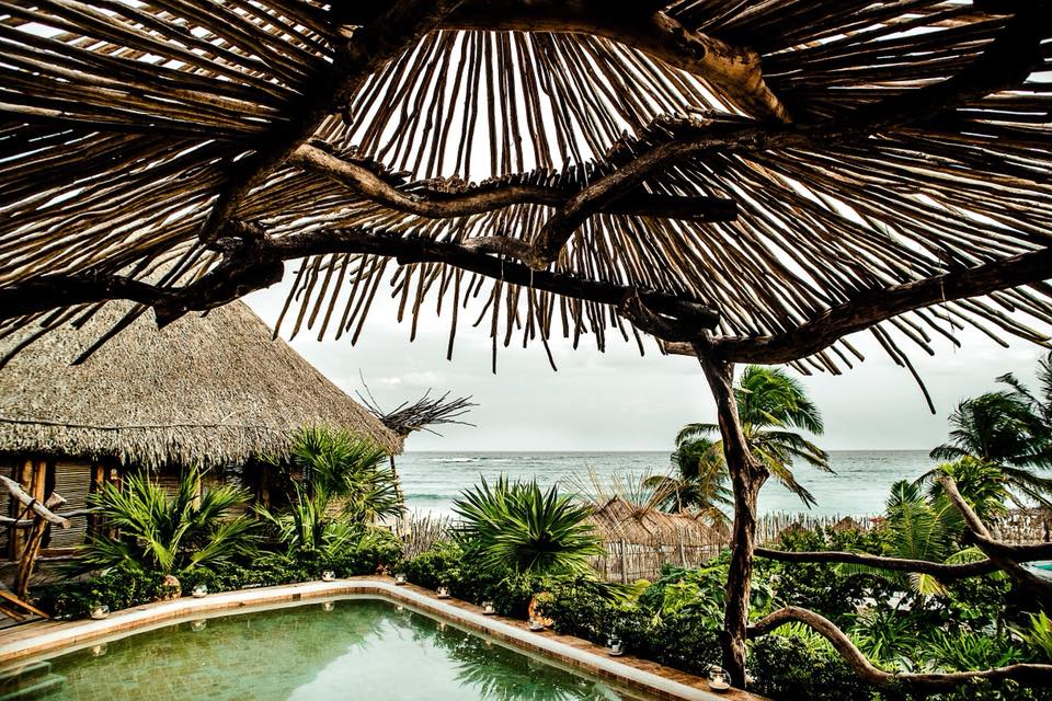 Azulik Hotel in Tulum // 5 Eco-Friendly Luxury Resorts In Mexico For A Sustainable Spring Break