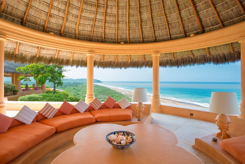 Cuixmala Luxury Hotel near Puerto Vallarta // 5 Eco-Friendly Luxury Resorts In Mexico For A Sustainable Spring Break