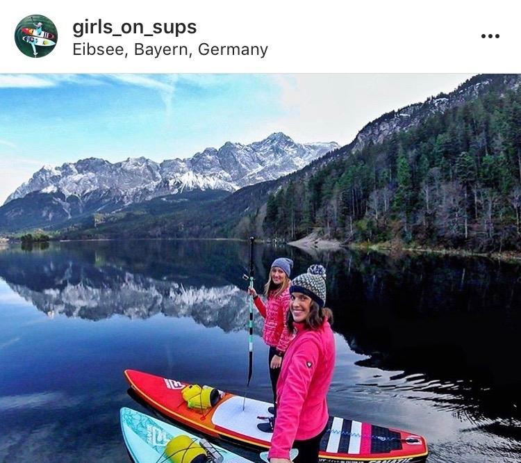 Women Adventurers On Instagram // @girls_on_sups