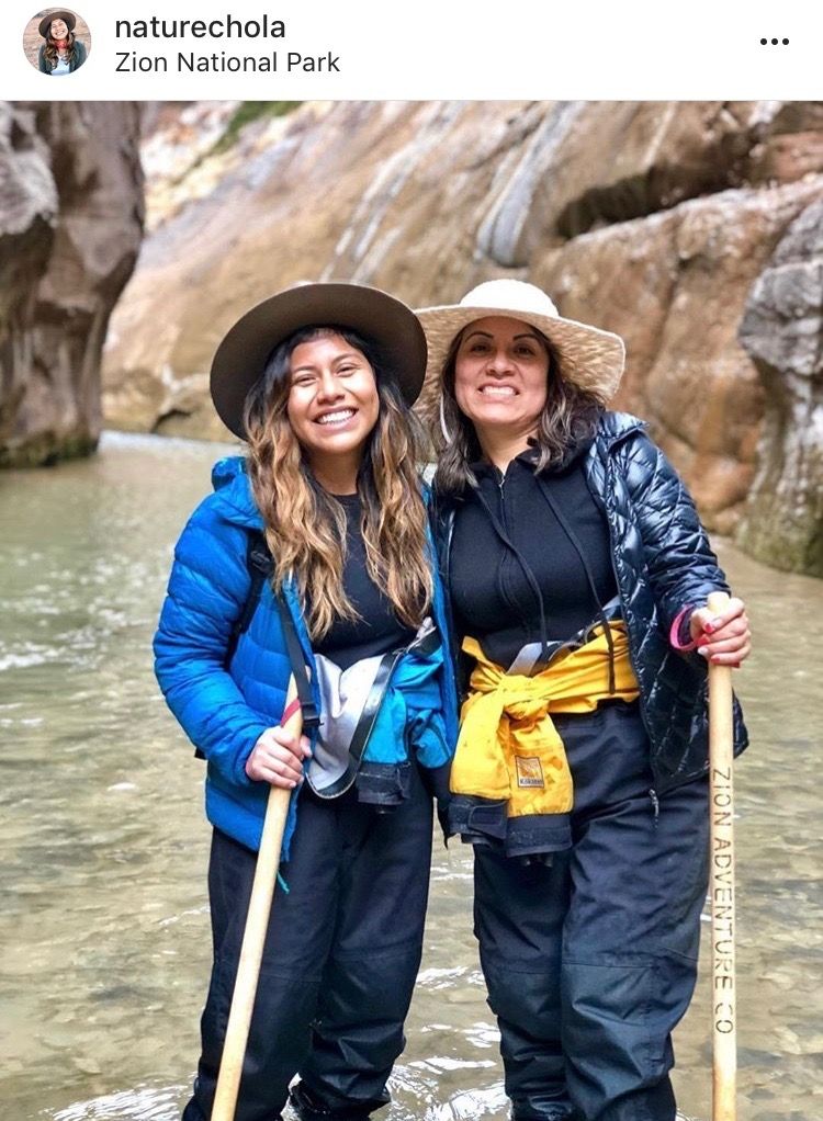 Women Adventurers On Instagram // @naturechola