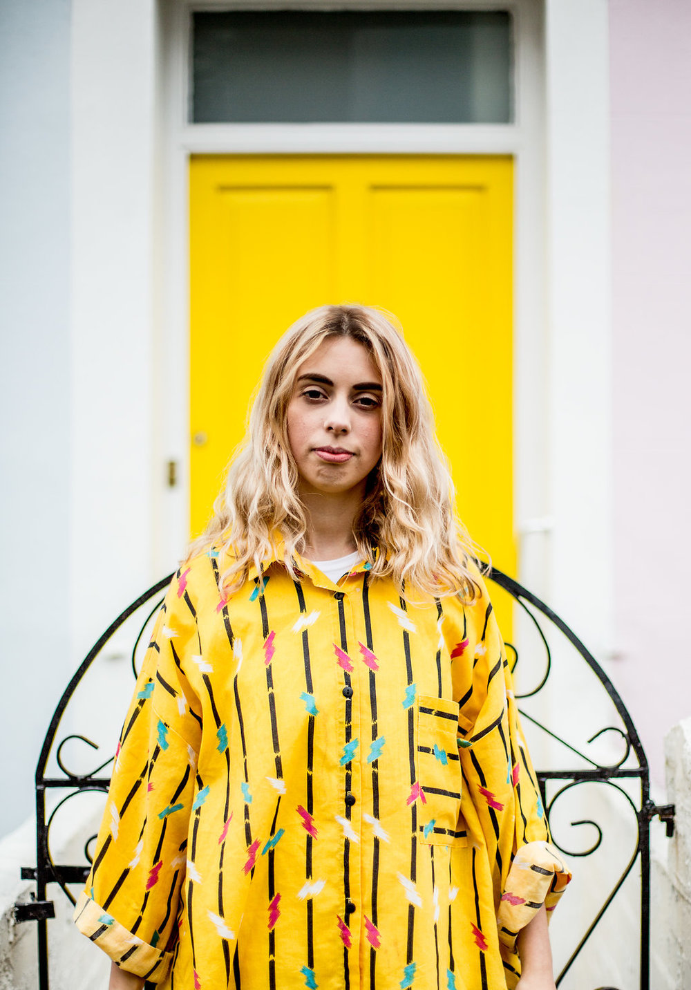 Thrift shop street style // A Week Of Vibrant & Global Outfits With Francesca Willow From Ethical Unicorn on The Good Trade