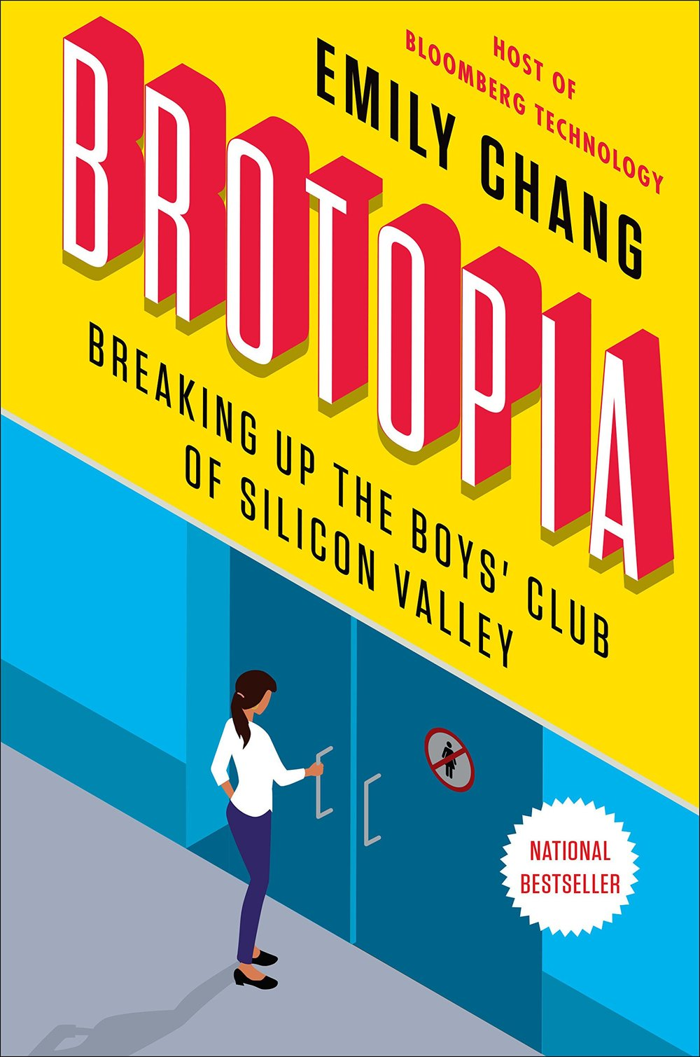 Career Books For Women - Brotopia by Emily Chang