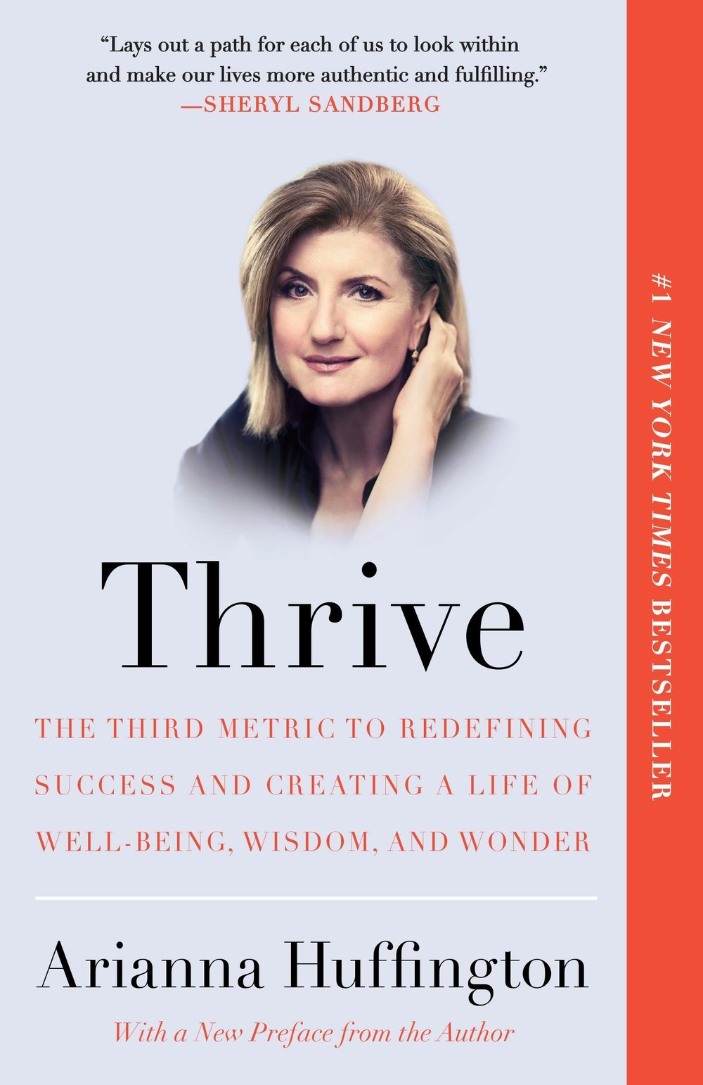 Best Career Books For Women - Thrive by Arianna Huffington