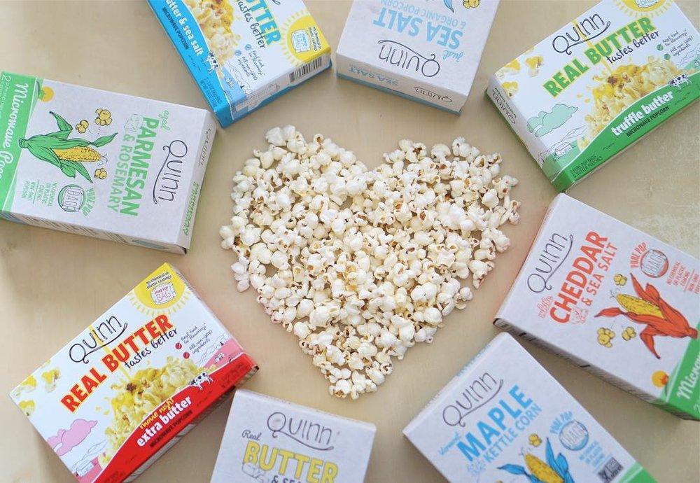 Sustainable Snacks - Quinn Snacks