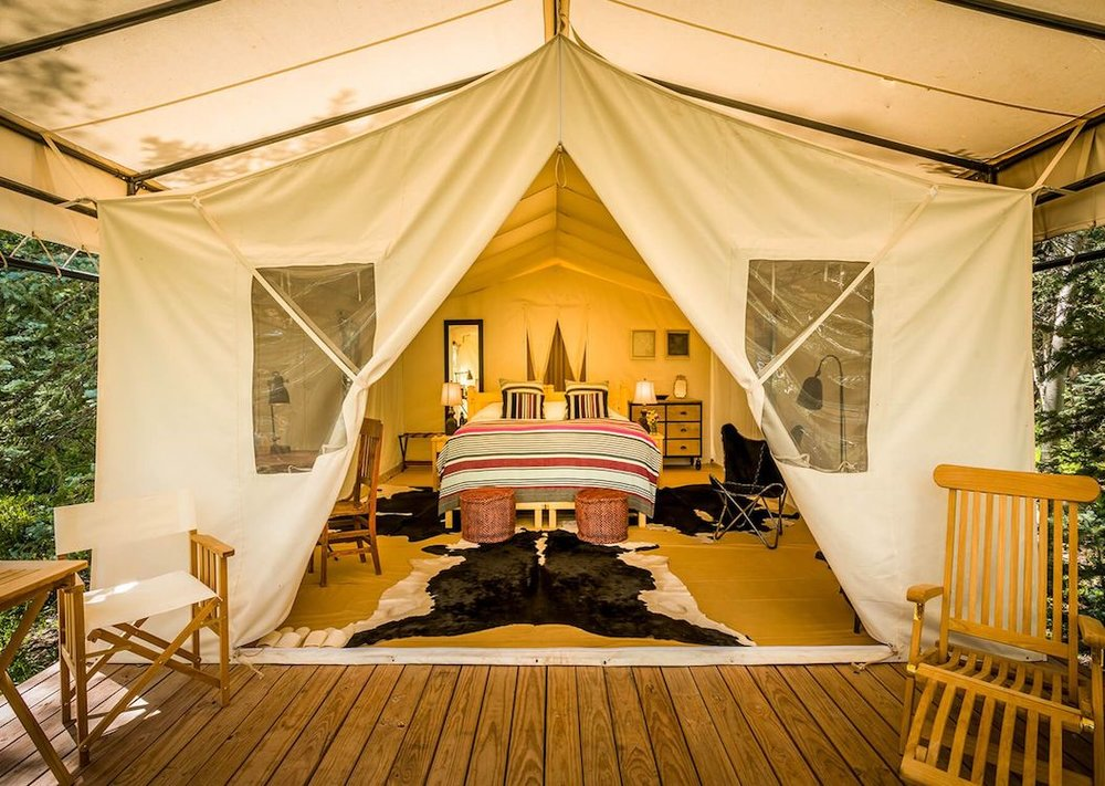 Luxury Outdoor Glamping Resorts - Dunton River Camp