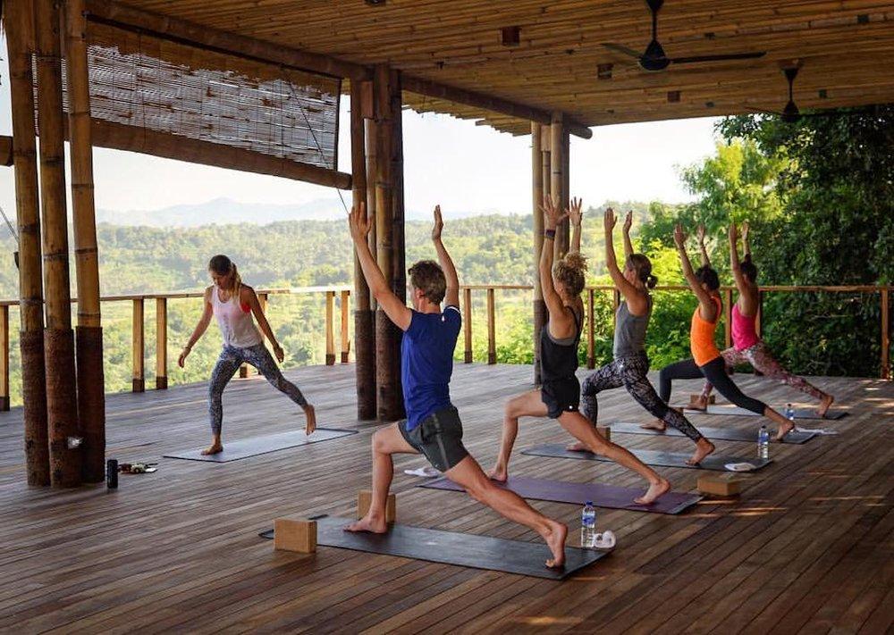 Yoga Retreats Fall 2018 - Mary Tilson's Retreat in Bali