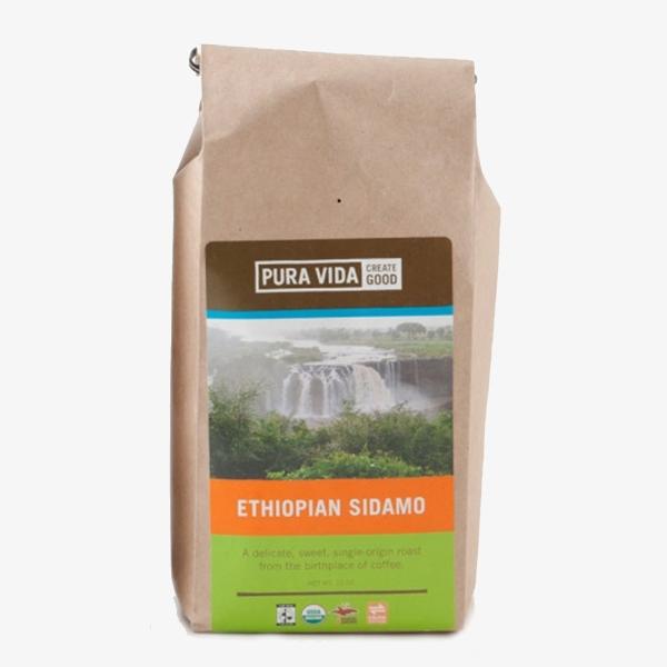 Fair Trade Shade Grown Coffee - Pura Vida