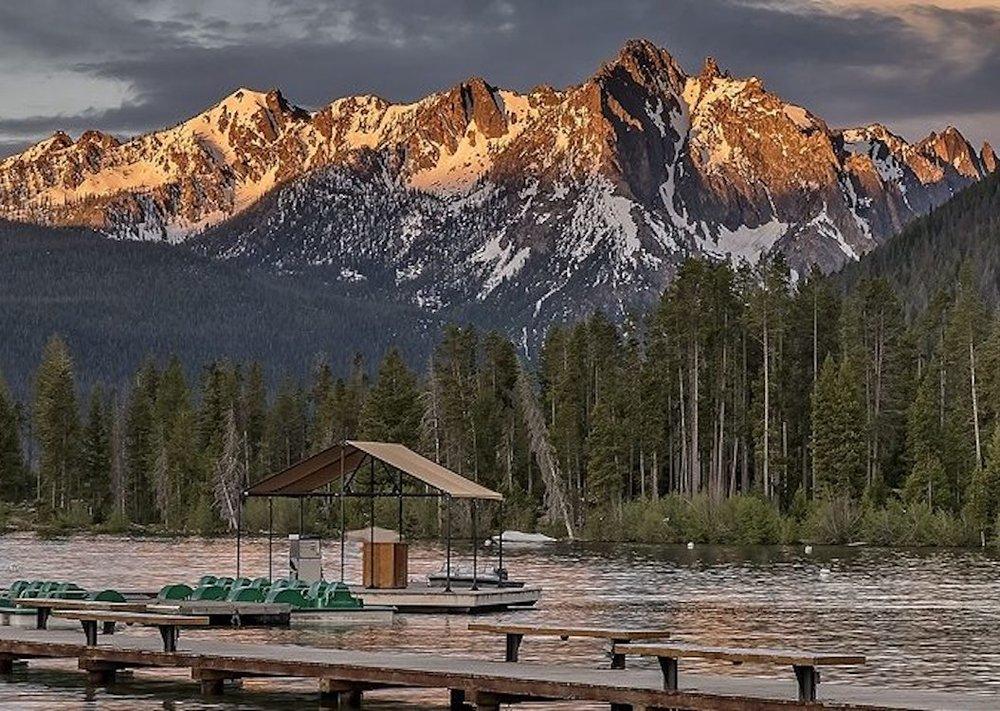 Where To Go In Stanley, Idaho: Redfish Lake