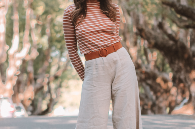 Shades of brown and cream outfit | A Week Of Consciously Curated Outfits With Amber Boyers, Founder Of BAIIA And The Conscious Cut on The Good Trade