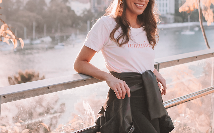 Feminist shirt  | A Week Of Consciously Curated Outfits With Amber Boyers, Founder Of BAIIA And The Conscious Cut on The Good Trade