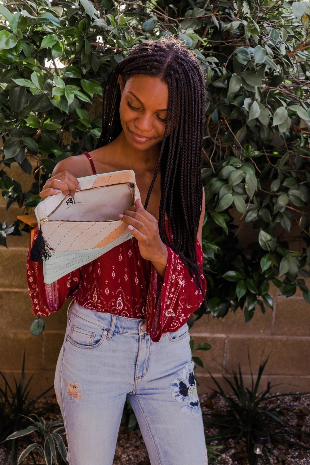 Thrifted outfit inspiration // A Week Of 1970s-Inspired Outfits With Leah Thomas, The Sustainable Lifestyle Blogger Behind Green Girl Leah on The Good Trade