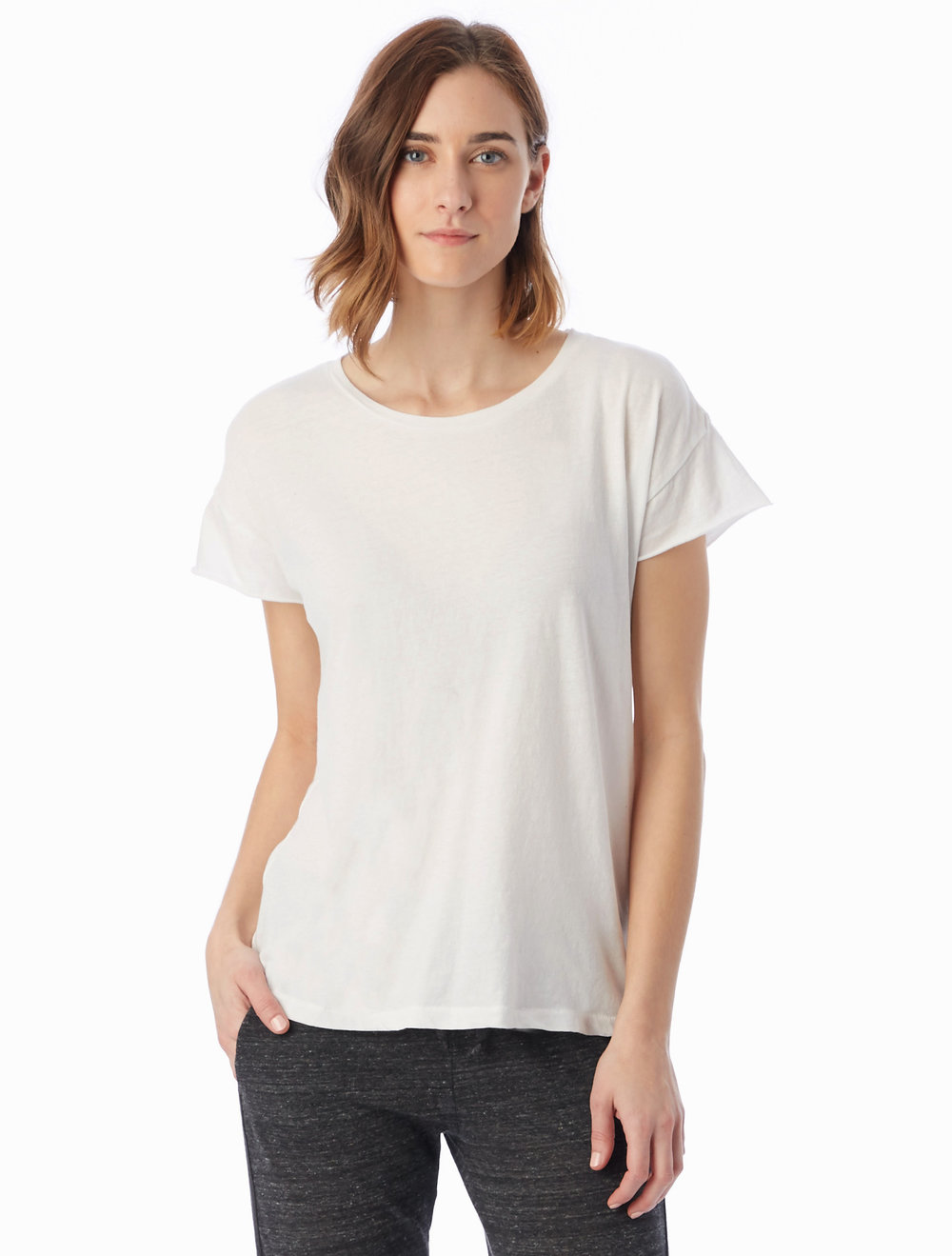 The Rocker Classic White Tee from Alternative Apparel