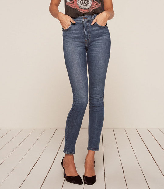 The High & Skinny Jean from Reformation