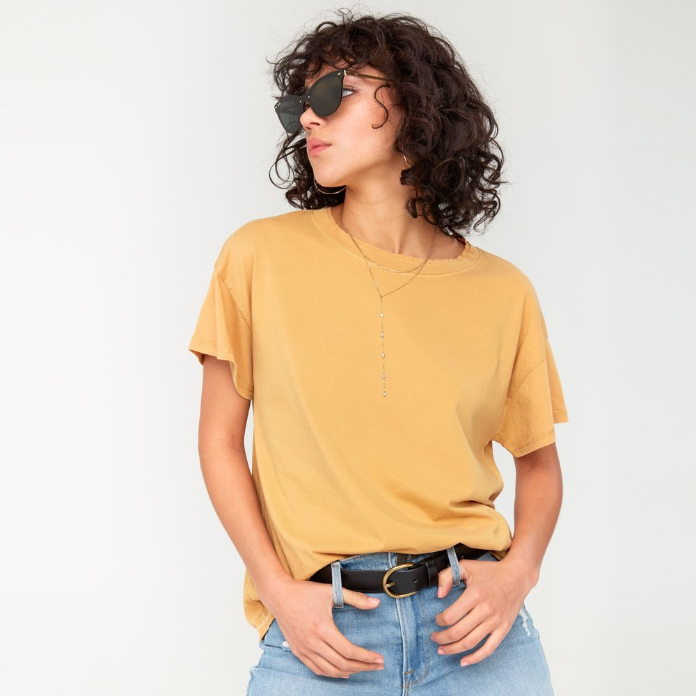 Organic Yellow Tee from MATE The Label
