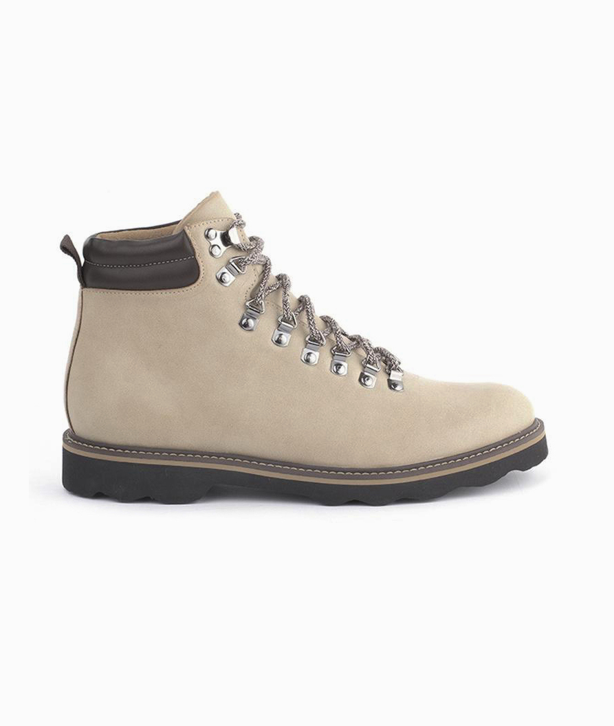 Vegan Boots For Hiking - Ahimsa Jeffery Lace-Up Hiking Boots