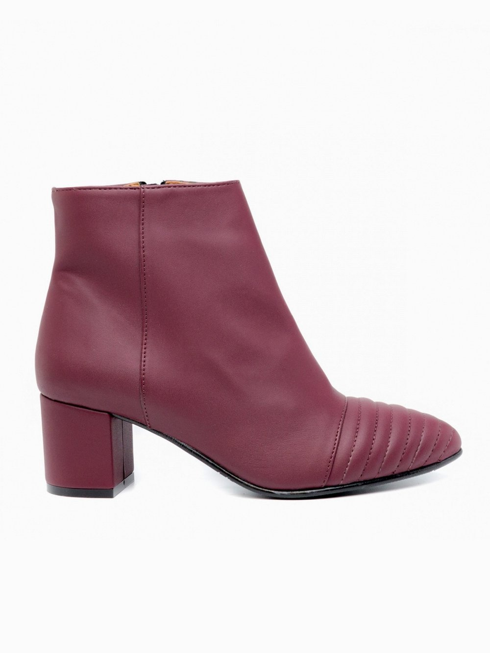 Vegan Boots - Nae Vegan Ankle Boots in Bordeaux
