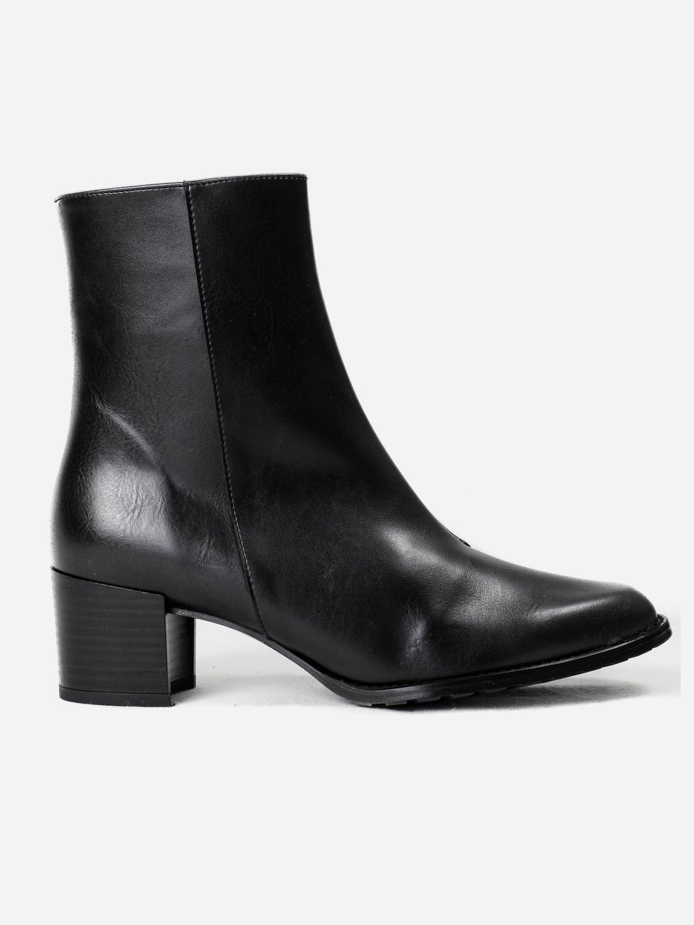 Vegan Boots For Fall and Winter - Bhava Studio Patti Ankle Boot