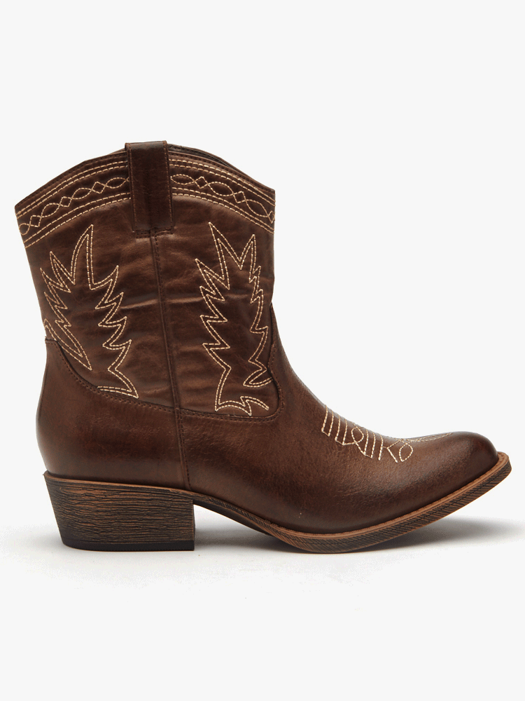 Vegan Boots For Fall - Matisse Western Boot
