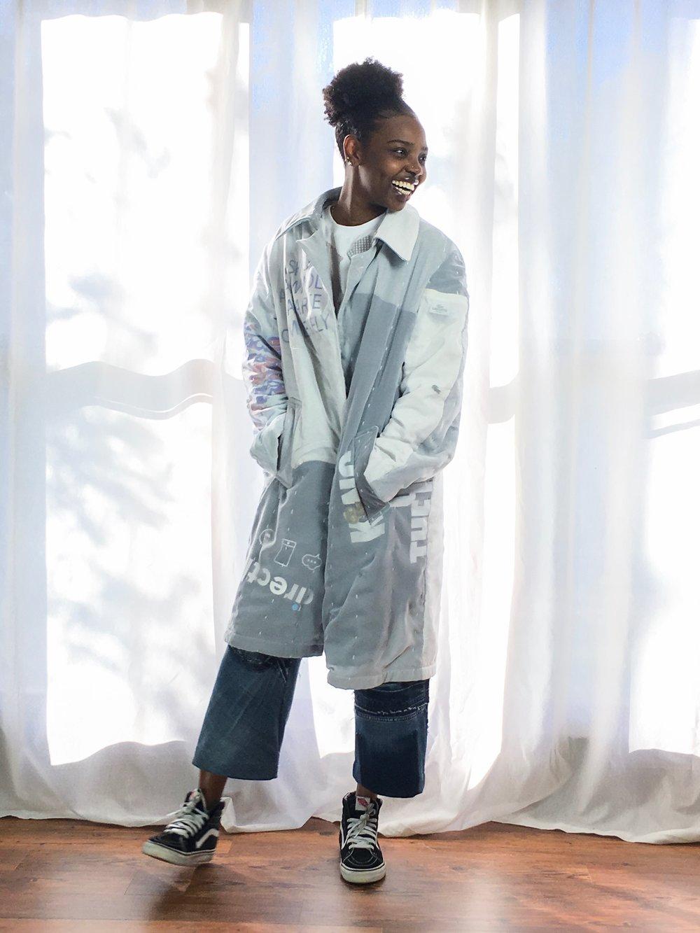 Designers Making Upcycled Clothing - Margaret Burton