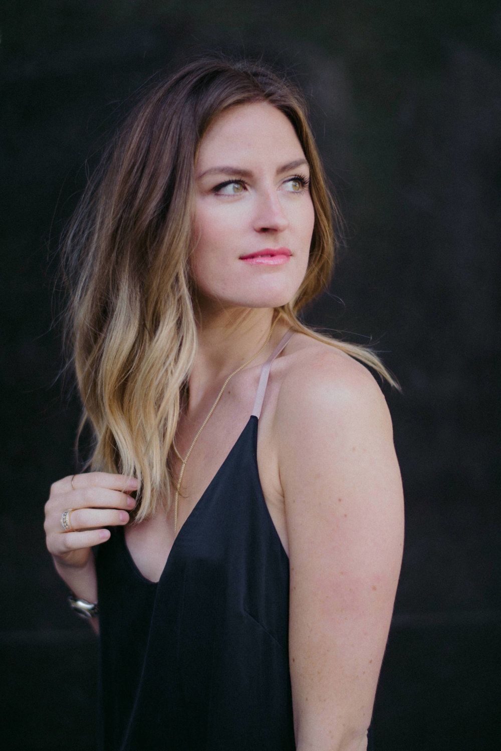 Sillk nightgown as party dress // A Week Of  Nashville-Chic Ethical Outfits With Jordan Soderholm, Fashion Director At ABLE on The Good Trade
