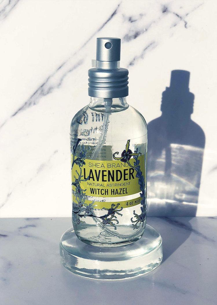Witch Hazel Skincare Products - Shea Brand Lavender Witch Hazel Toning Spray