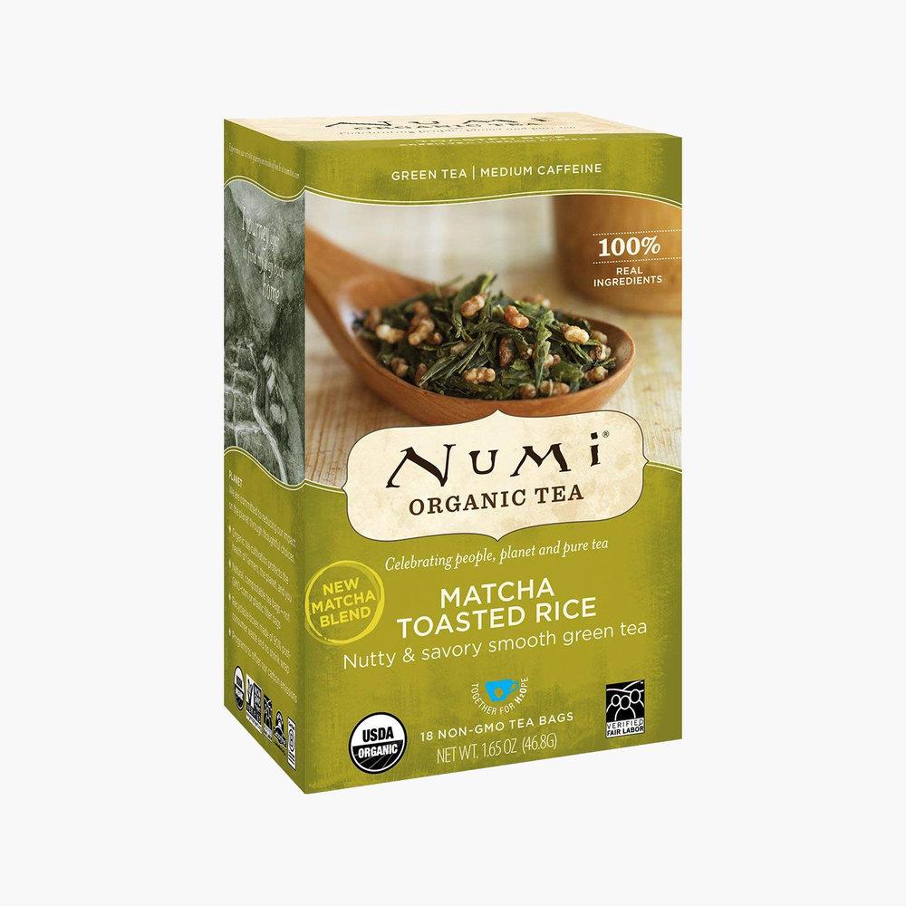 Organic Green Tea - Numi Matcha Toasted Rice Green Tea