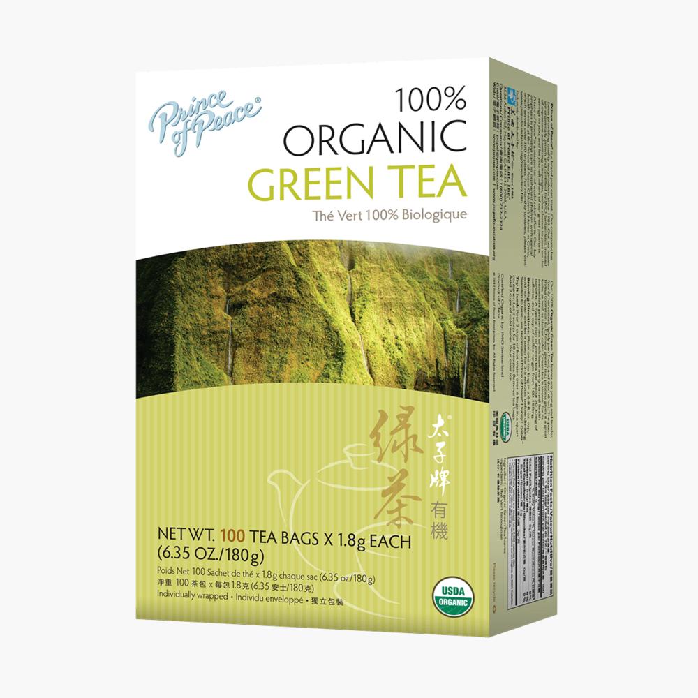 Organic Green Tea - Prince Of Peace