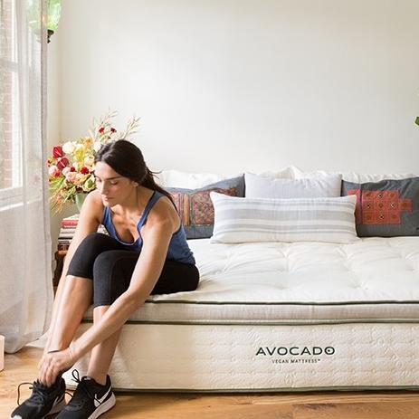 Eco-Friendly Vegan Mattresses - Avocado Green Mattress