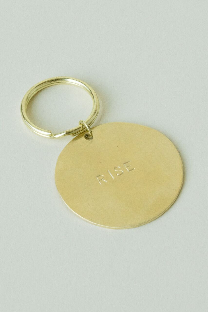 Rise Keychain — Tribe Alive — Dazey LA - Feminist Holiday Gifts That Empower Women on The Good Trade