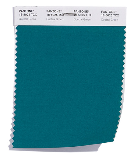 Unpacking Pantone's Fall Color Picks - Quetzal Green