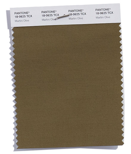 Unpacking Pantone's Fall Color Picks - Martini Olive