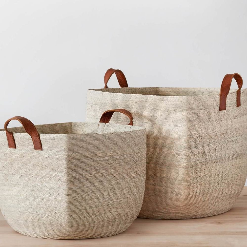 Mercado Storage Baskets from The Citizenry - Zero Waste Holiday Gift Guide on The Good Trade