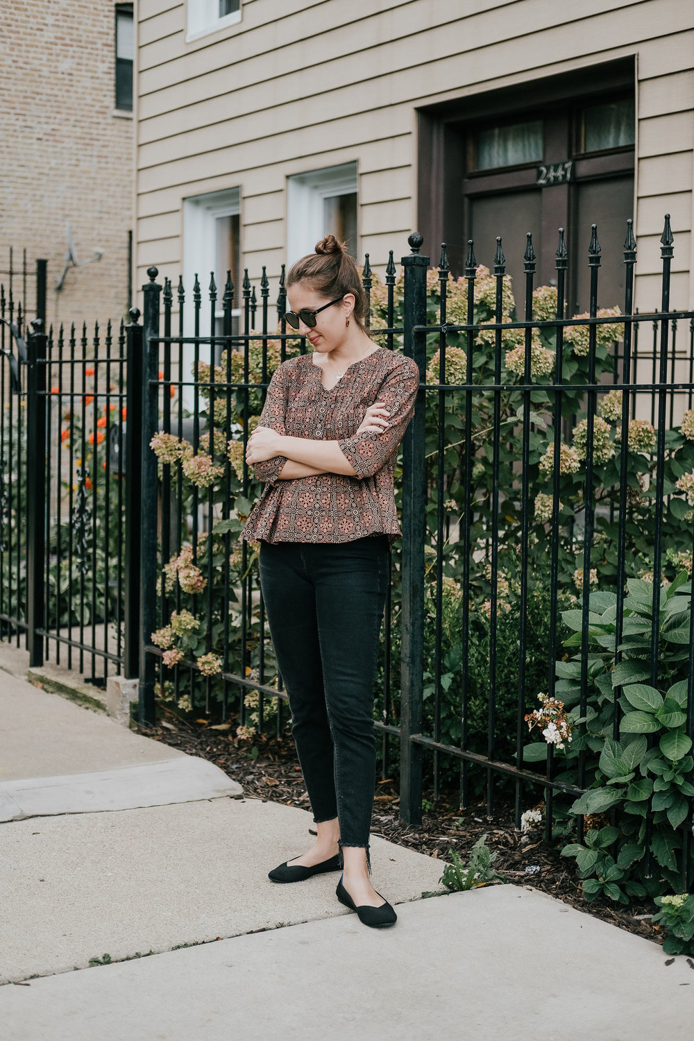 Casual Tuesday outfit - A Week Of Ethical Outfits With Heart With Carly Gerber From Hippie + Heart on The Good Trade