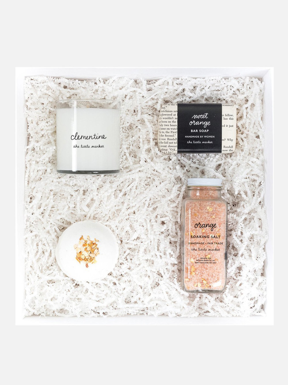 Orange Spa Gift Box from The Little Market