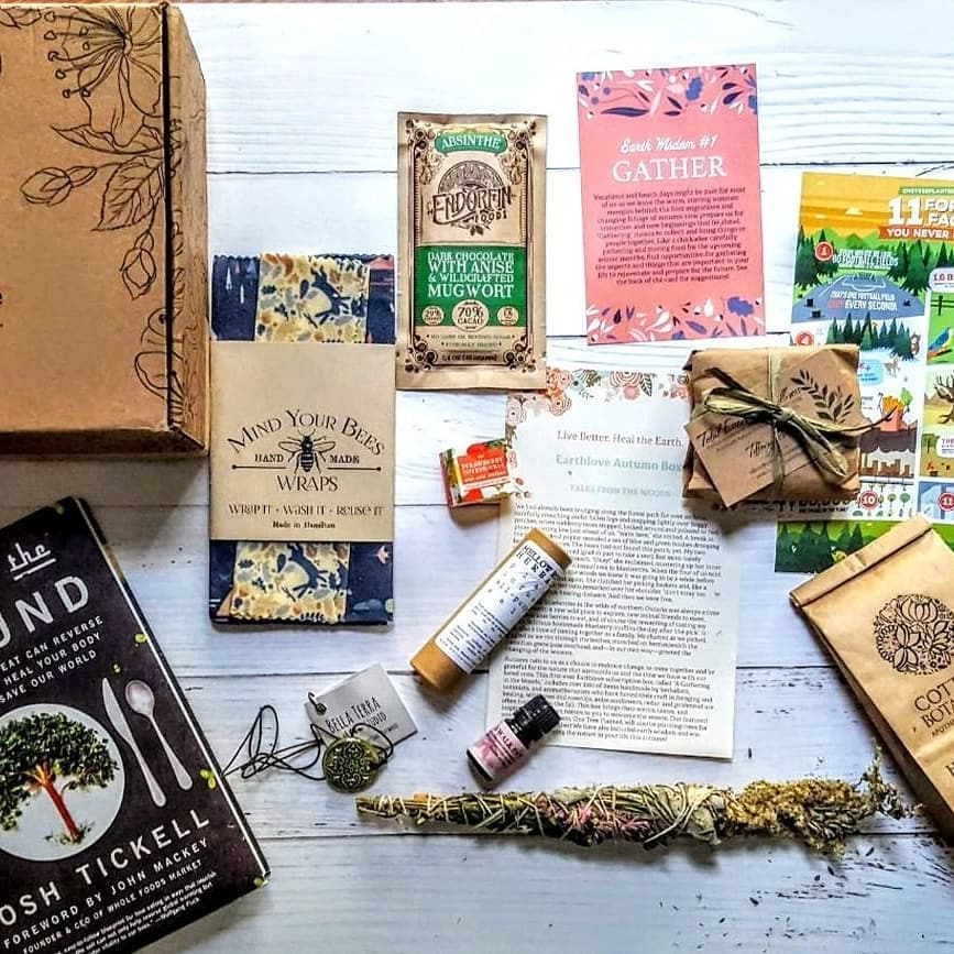 Sustainable Subscription Boxes For Gifting - Earth Love Box