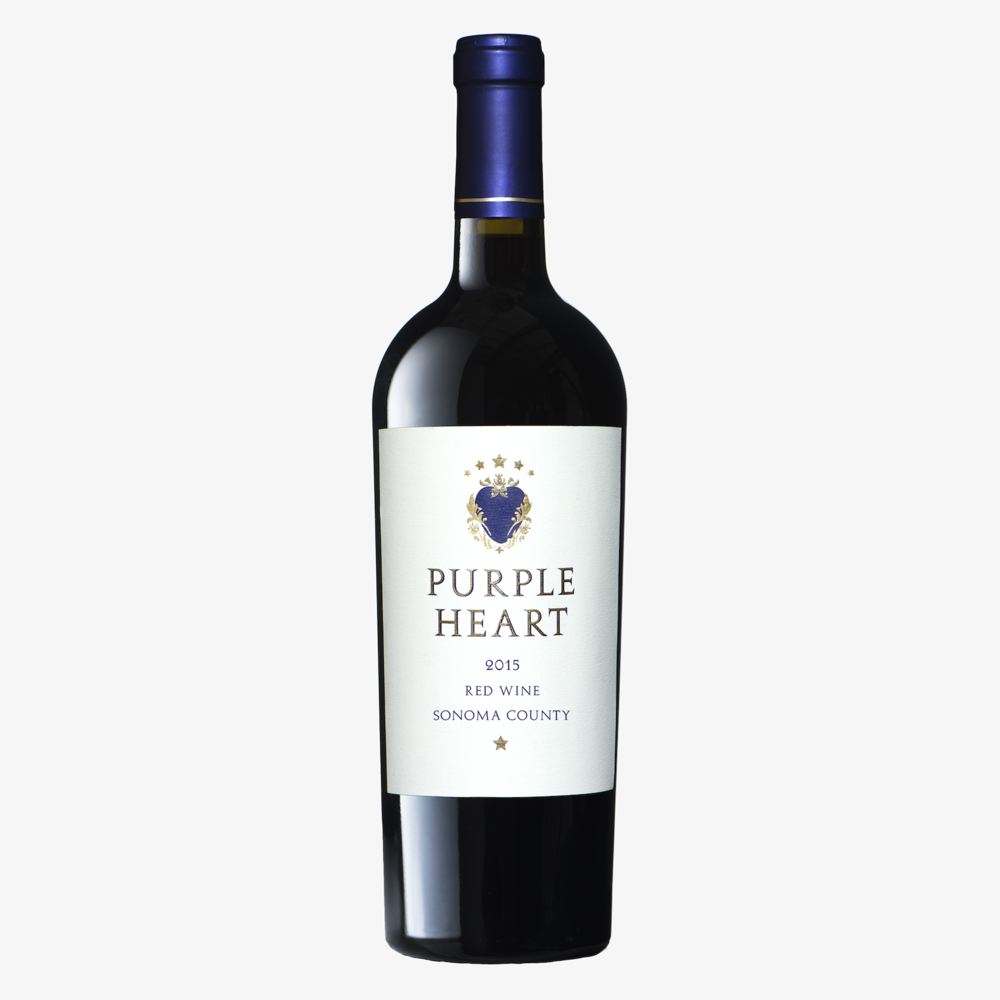 Wine Brands That Give Back - Purple Heart Wines