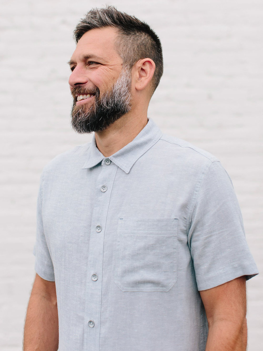 The Parker Shirt by Saltura | Men's Capsule Wardrobe on The Good Trade