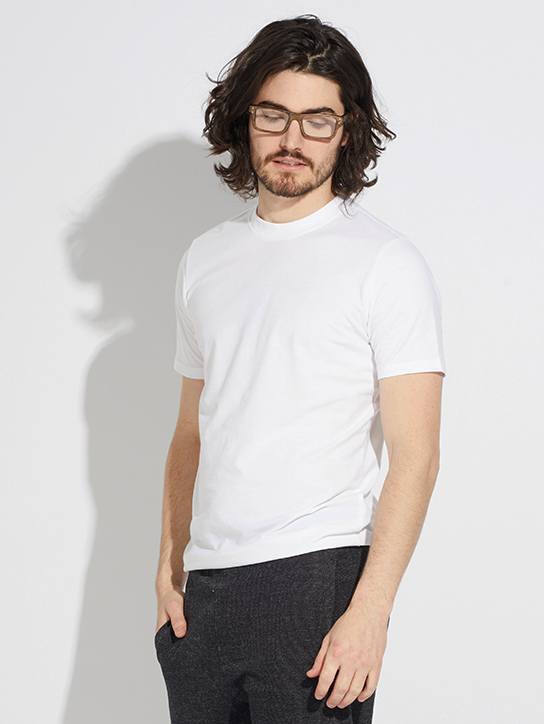 Casual Crew Neck Tee by Pact | Men's Capsule Wardrobe on The Good Trade